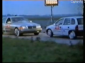 Crash Test Mercedes Clase S (w140) против Opel Corsa